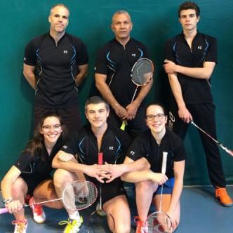Badminton Templemars interclubs Equipe D3 2016-2017